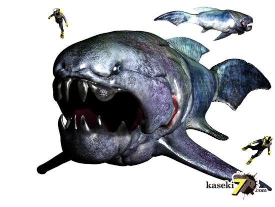海の覇者!10mの巨大魚ダンクルオステウス