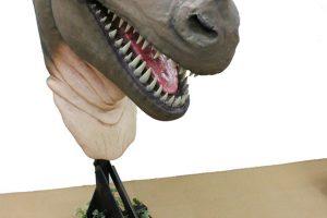 ティラノサウルス頭部実寸大フィギュア