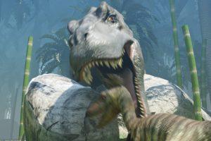 恐竜の映像